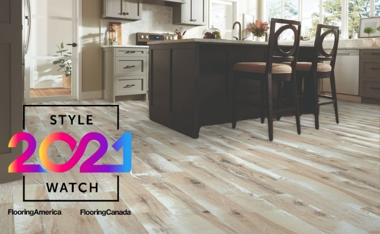 Kitchen Grained Hardwood Stylewatch Flooring Example